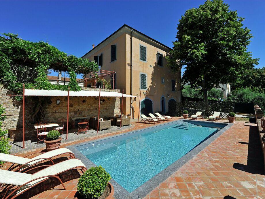 Außenaufnahme Villa Peccioli
