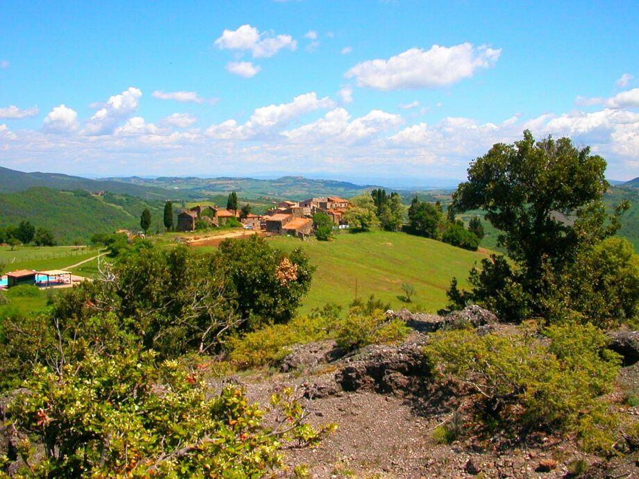Außenaufnahme San Gimignano