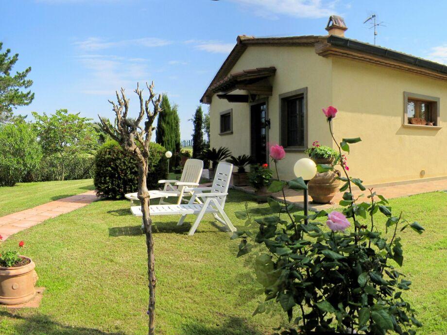 Außenaufnahme Villino Sibilla Terra