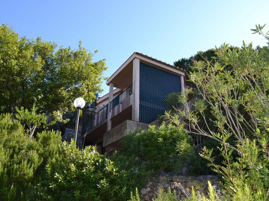Außenaufnahme Villa Vietri