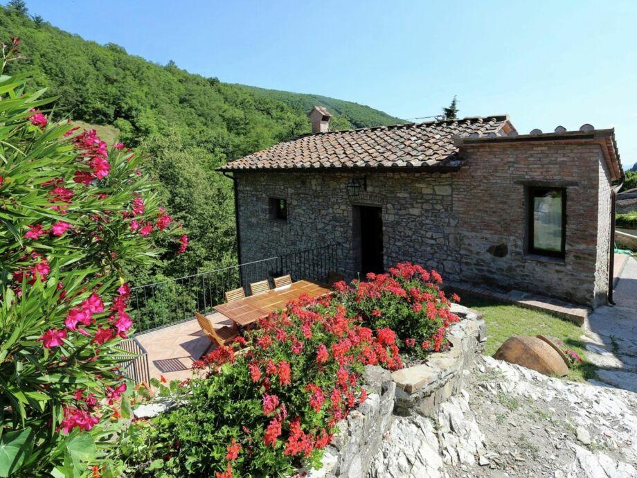 Außenaufnahme Villa Buonamici - Il fienile
