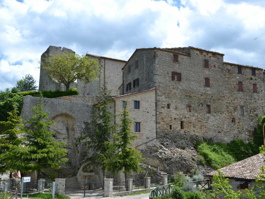Außenaufnahme Castello Fatato Sogni
