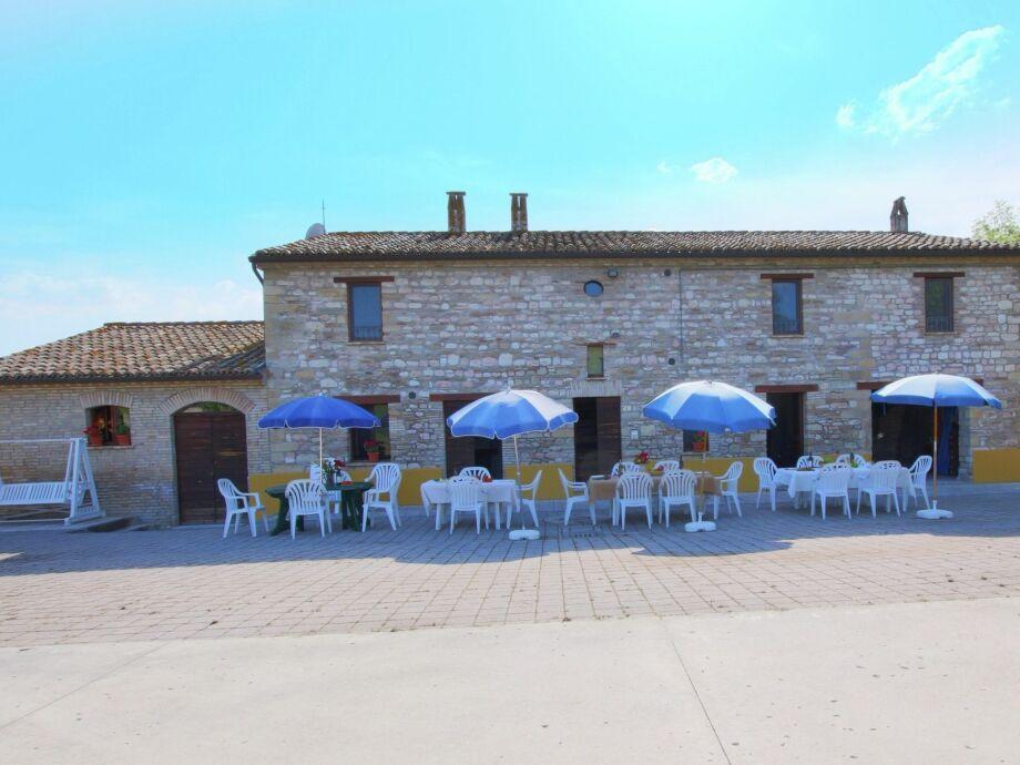 Außenaufnahme Villa Fano