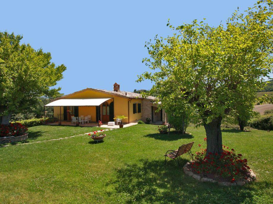 Außenaufnahme Villa Pergola