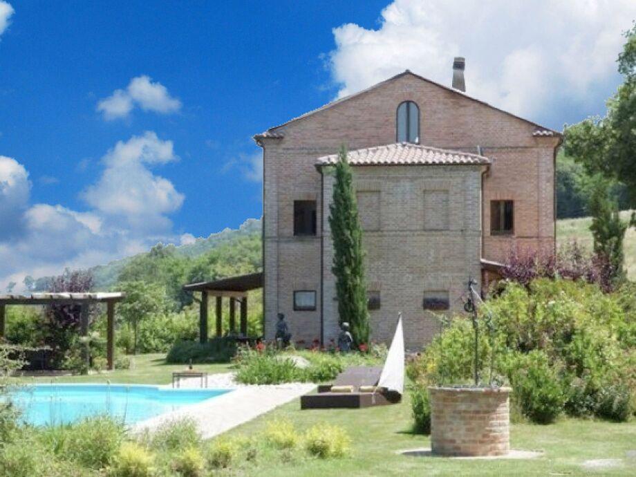 Außenaufnahme Villa Ginesio