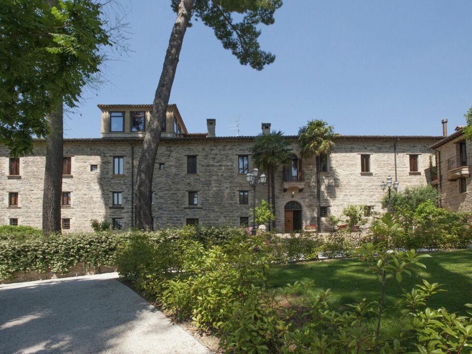 Außenaufnahme Villa Borgo Centrale