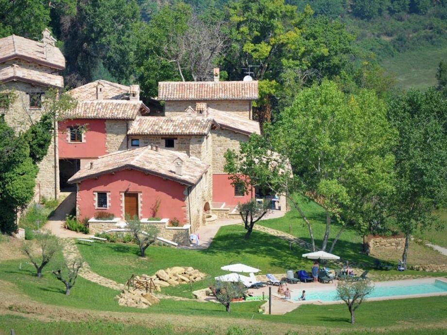 Außenaufnahme Casa del Borgo