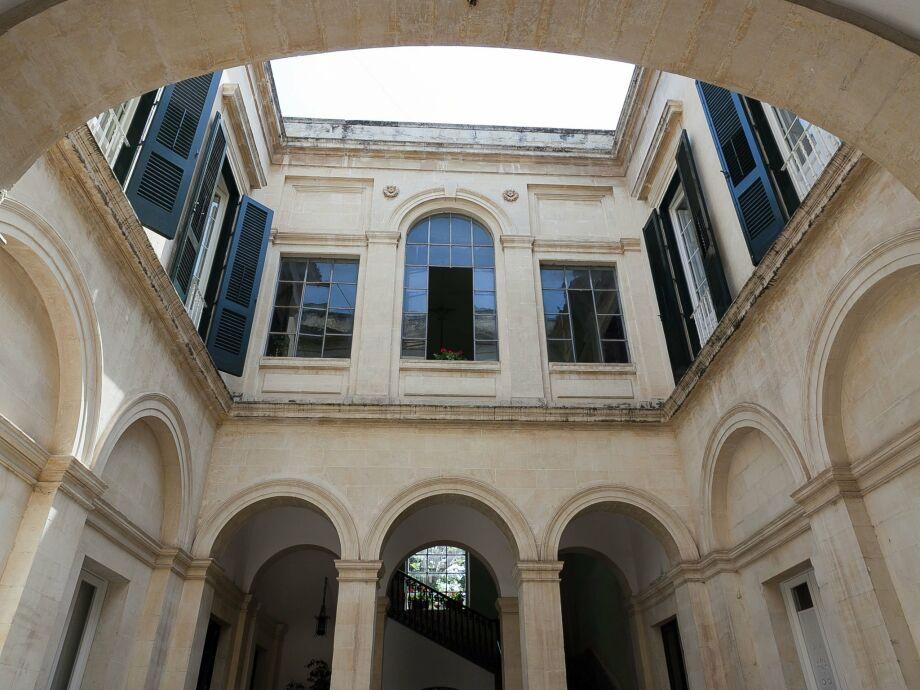 Außenaufnahme Palazzo Pio