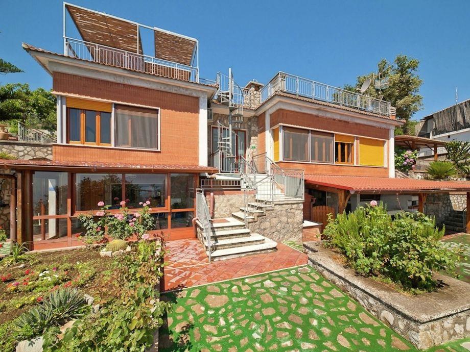 Außenaufnahme Villa Sorrento