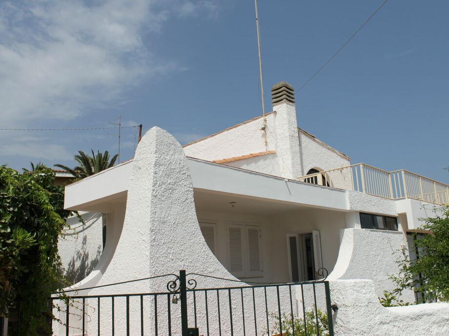 Außenaufnahme Villa Eirene
