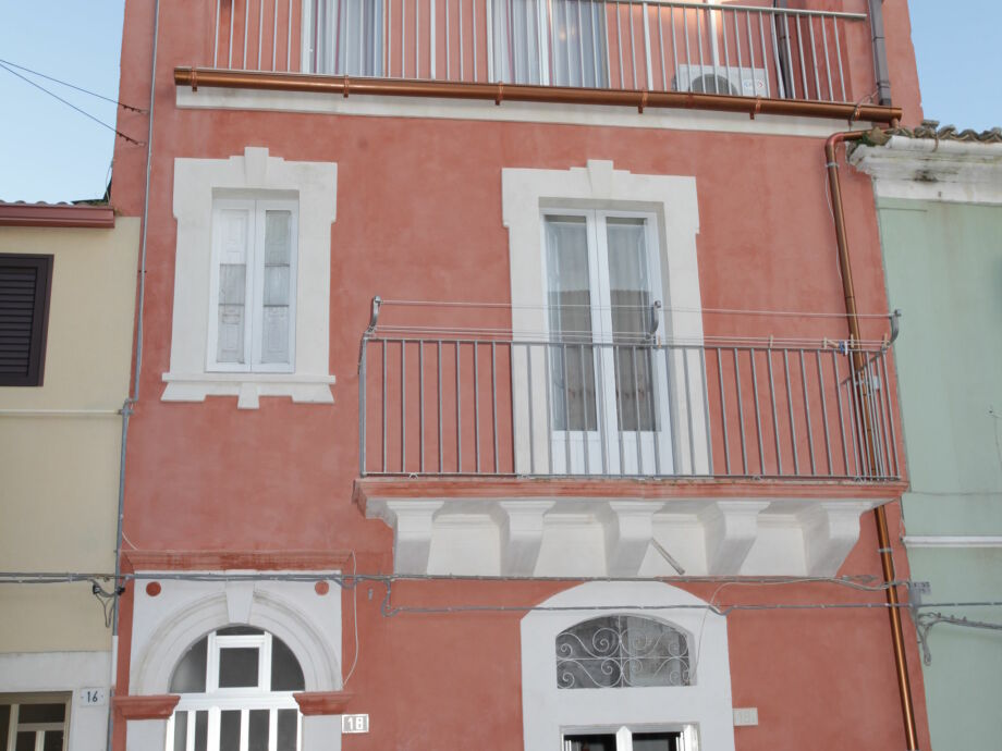 Außenaufnahme In centro a Ragusa