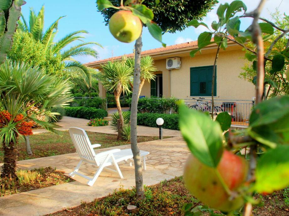 Außenaufnahme Villa Rosa Dieci