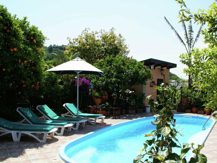 Außenaufnahme Villa Gravina