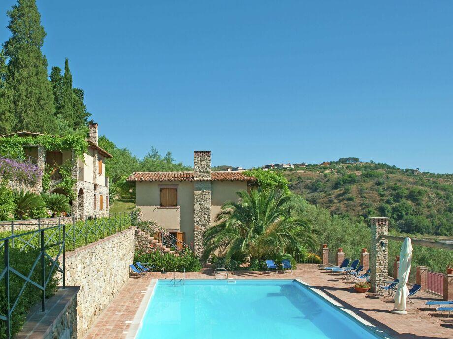 Außenaufnahme Borgo I Cipressi