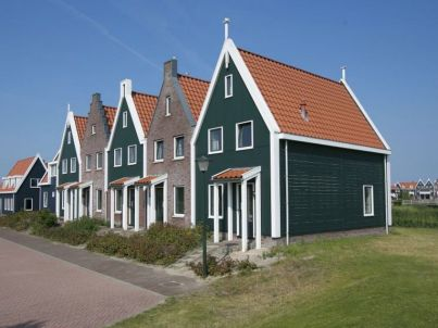 Strandloper im Marinapark Volendam