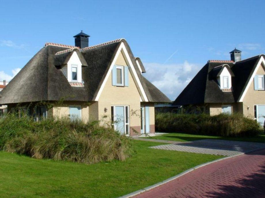 Außenaufnahme Villa Excelsior im Dünenresort Duynzicht