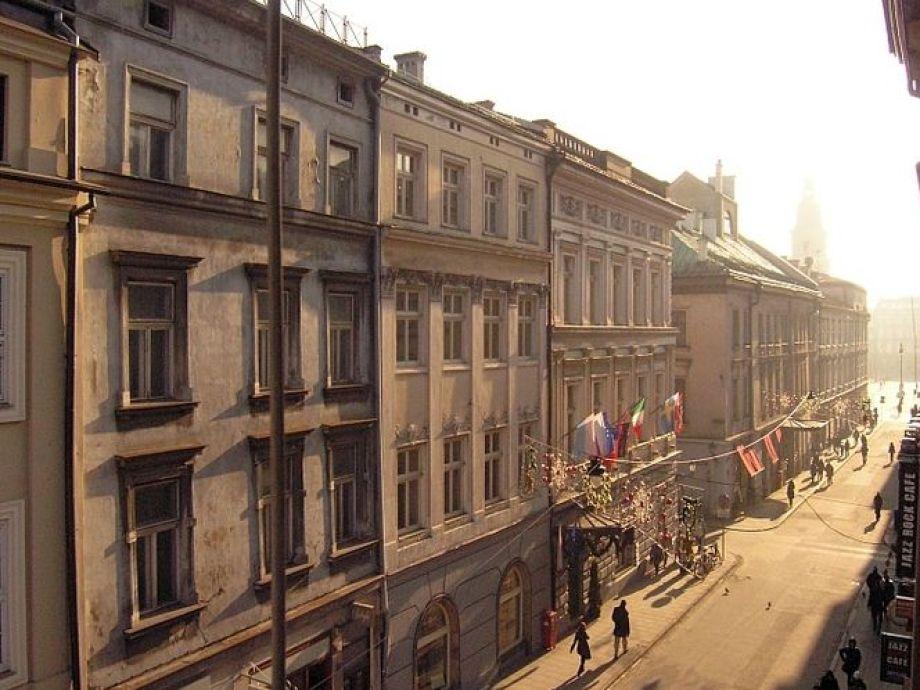 Außenaufnahme Down Town Krakow