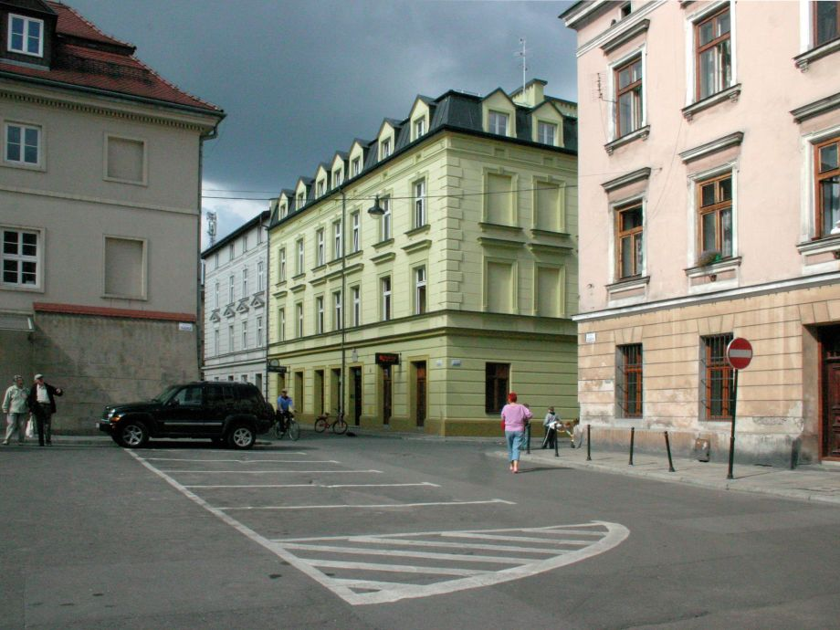 Außenaufnahme Cosy studio in Krakow