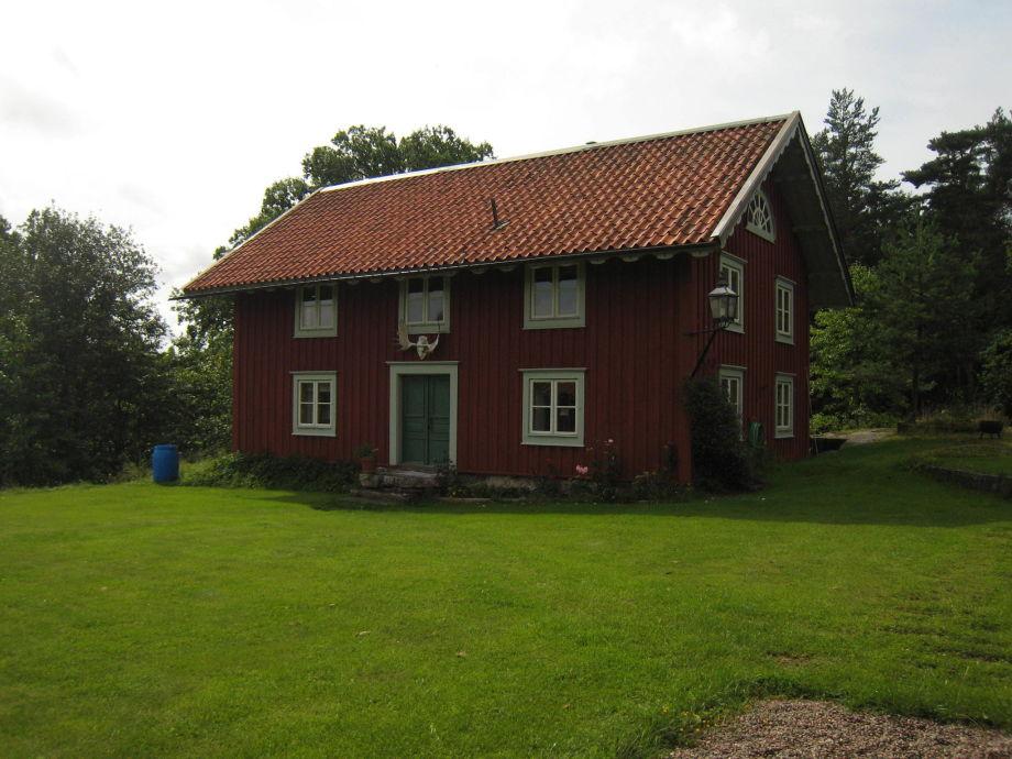 Außenaufnahme Narebo Gård Jaktflygel