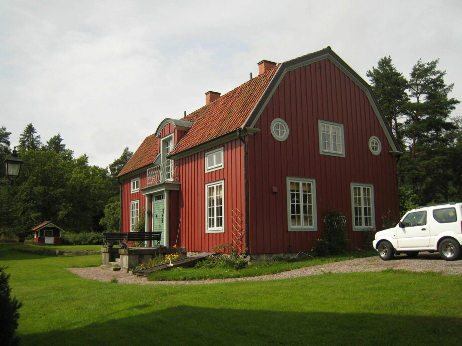 Außenaufnahme Narebo Gård Herrgård