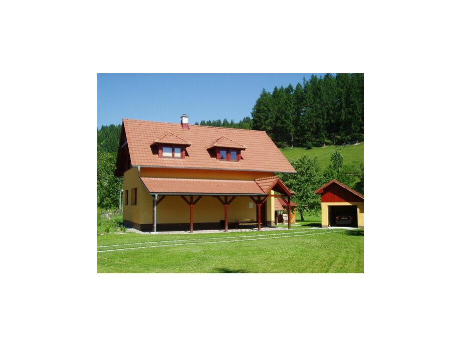 Außenaufnahme Villa Slovakia