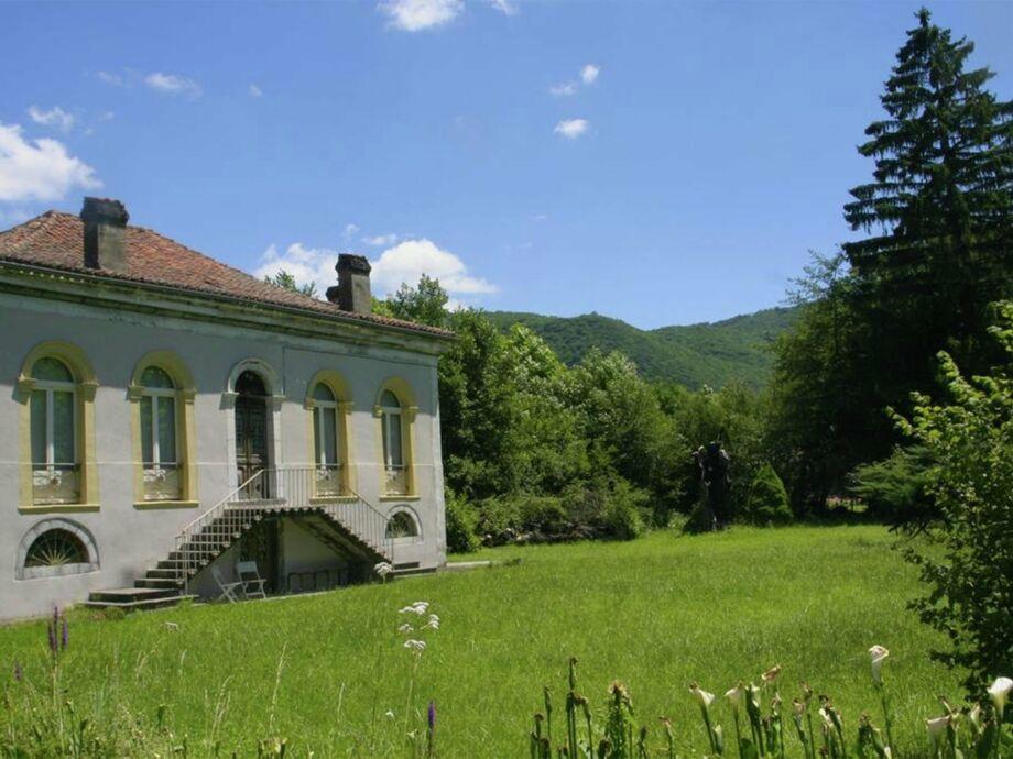Außenaufnahme Authentieke villa nabij Toulouse-Lourdes 9 pers