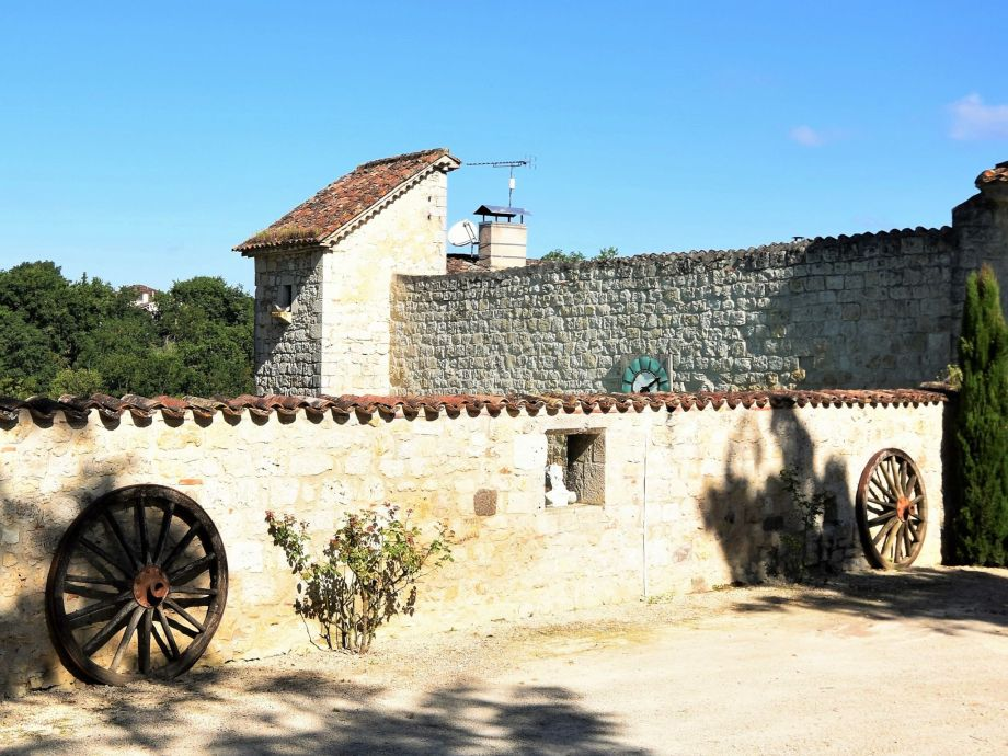 Außenaufnahme Chateau d'Agen