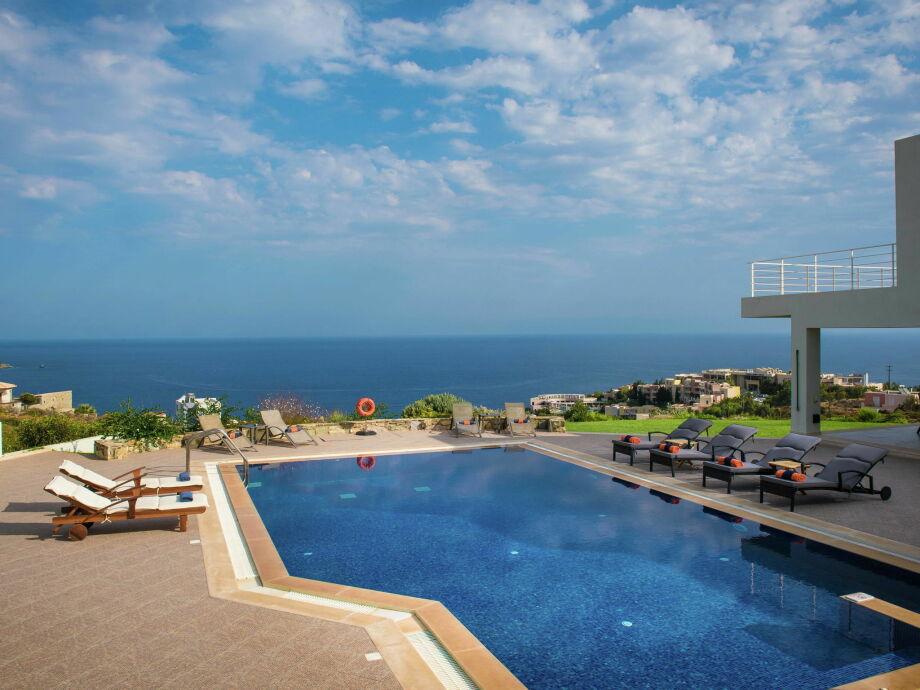 Außenaufnahme Villa Aspalathos