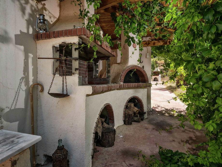 Außenaufnahme Villa Nostos