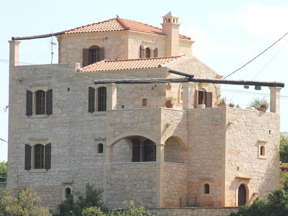 Außenaufnahme Villa Pantelis