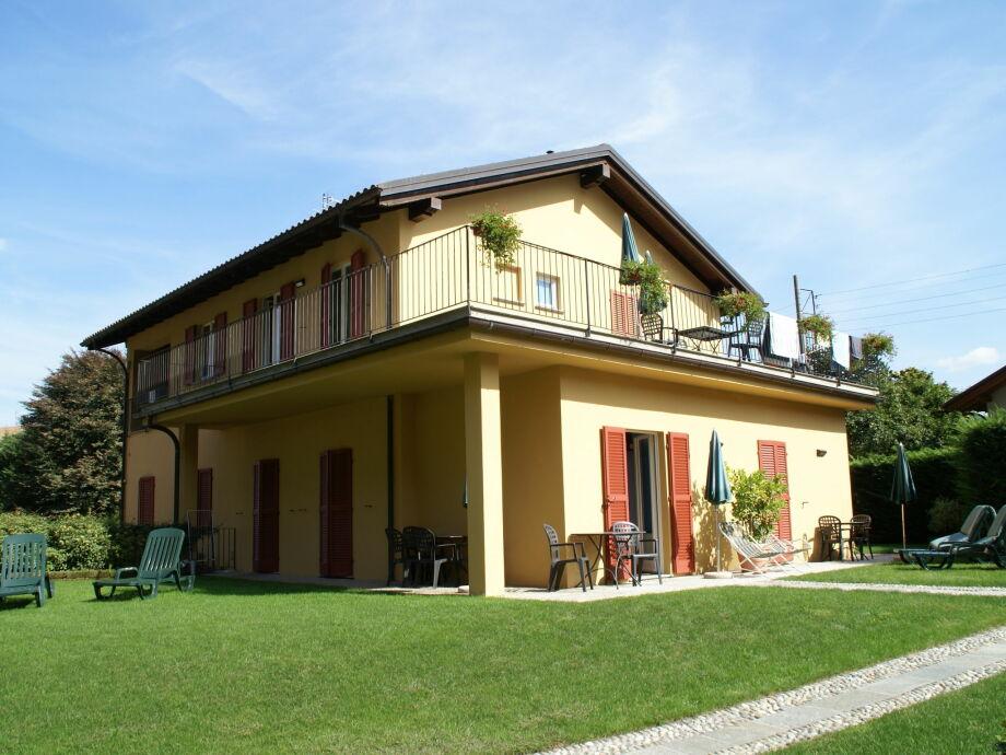 Außenaufnahme Appartamenti Ferrari - Mono giallo
