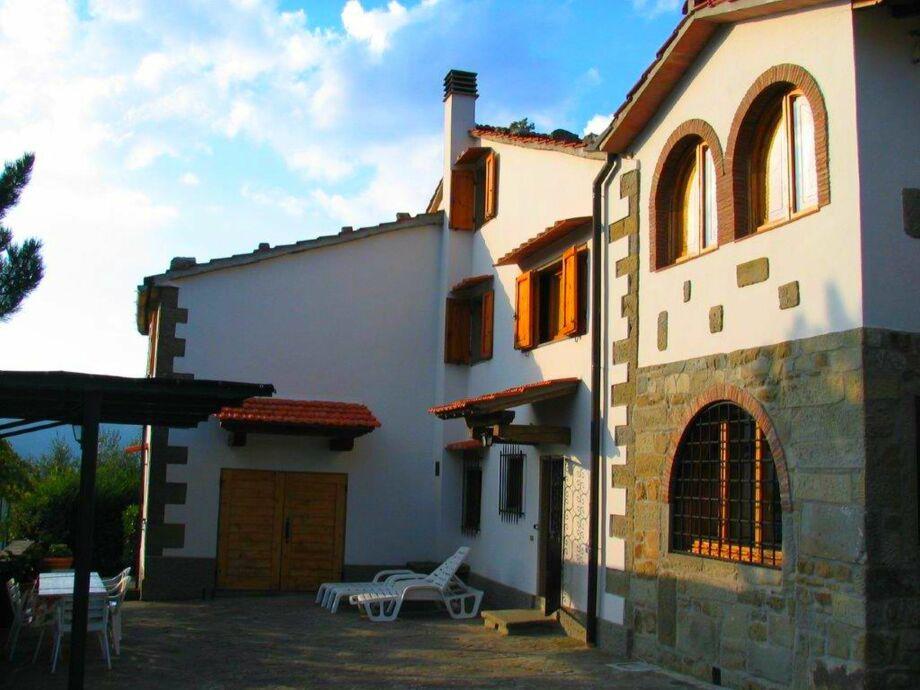 Außenaufnahme Villa Manetti