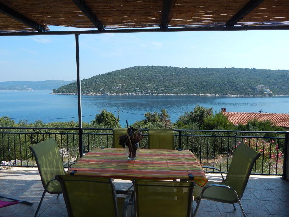 Vill Marela, Blick von der Terrasse