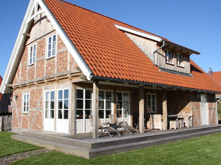 """Haus """" Meerzeit """" vom Garten..."""
