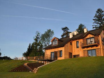 Exklusives Architekten-Alm-Ferienhaus in Wiennähe mit Sonnenterrassen und Traumaussicht
