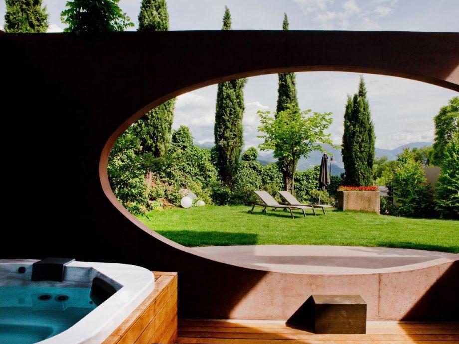 Design-Villa Im Mediterranen Garten Mit Whirlpool, Sauna Und