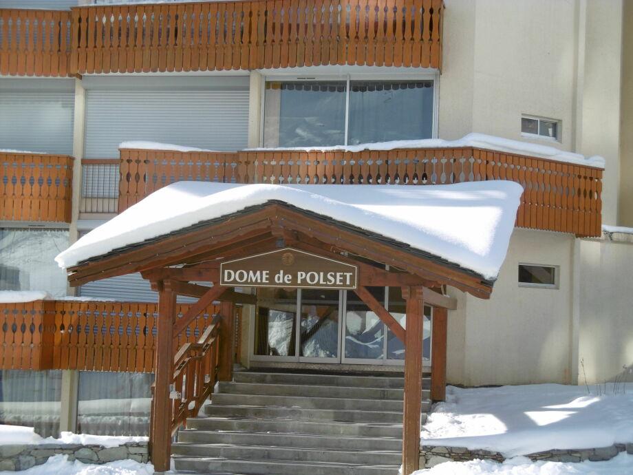 Außenaufnahme Dome de Polset