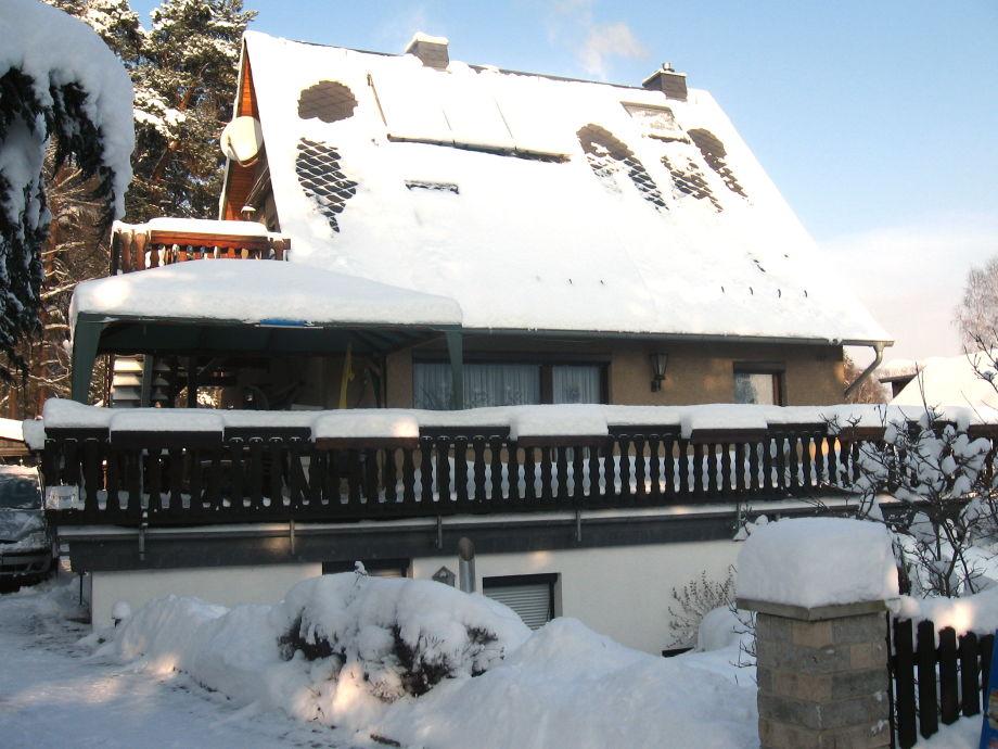 Ferienwohnungen Ilona Gürth im Winter