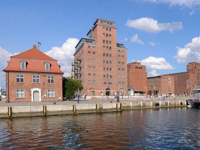 Apartment 21 im Ohlerich-Speicher mit Hafenblick