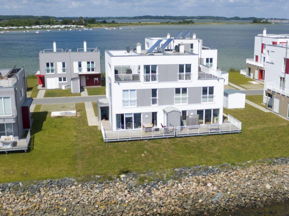 Ferienhaus Süd-See-Seite - Außenansicht