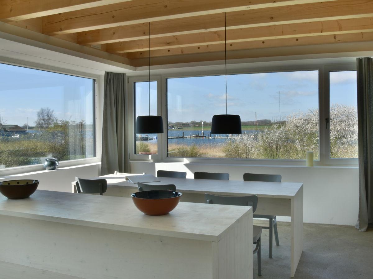 Ferienwohnung fjordhaus 6 schlei ostsee frau anne thieme for Wohnzimmer koch