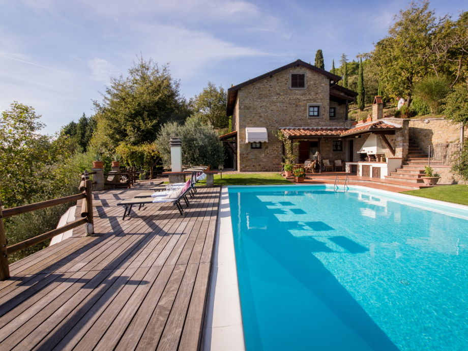 Außenaufnahme Villa La Foce