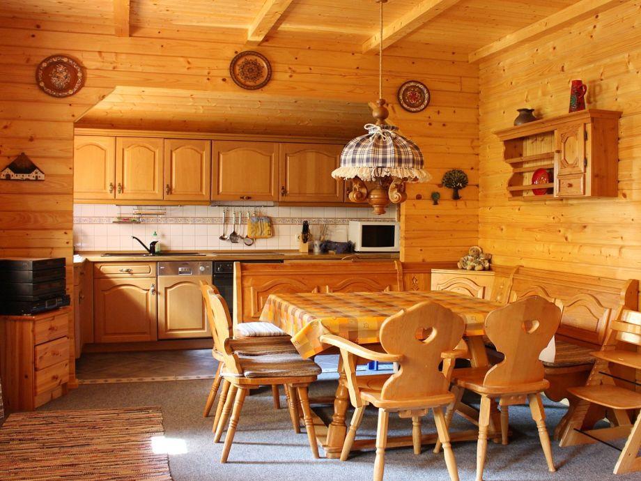 Offene Küche u. Essplatz