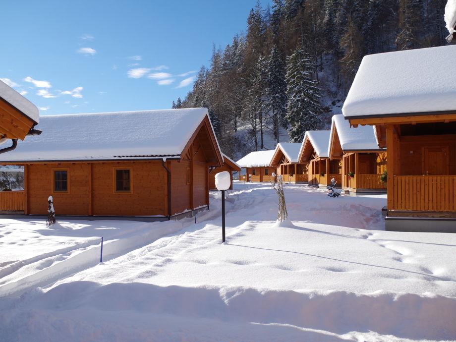 Winter im Feriendorf