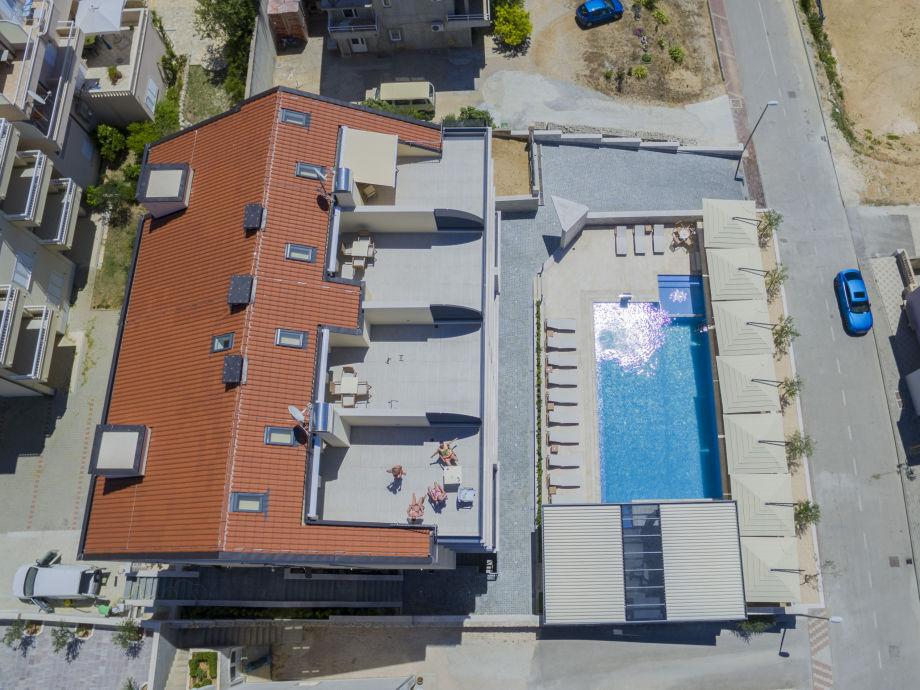 Ferienwohnung luxury aparthotel 1005 dalmatien makarska for Appart hotel 45