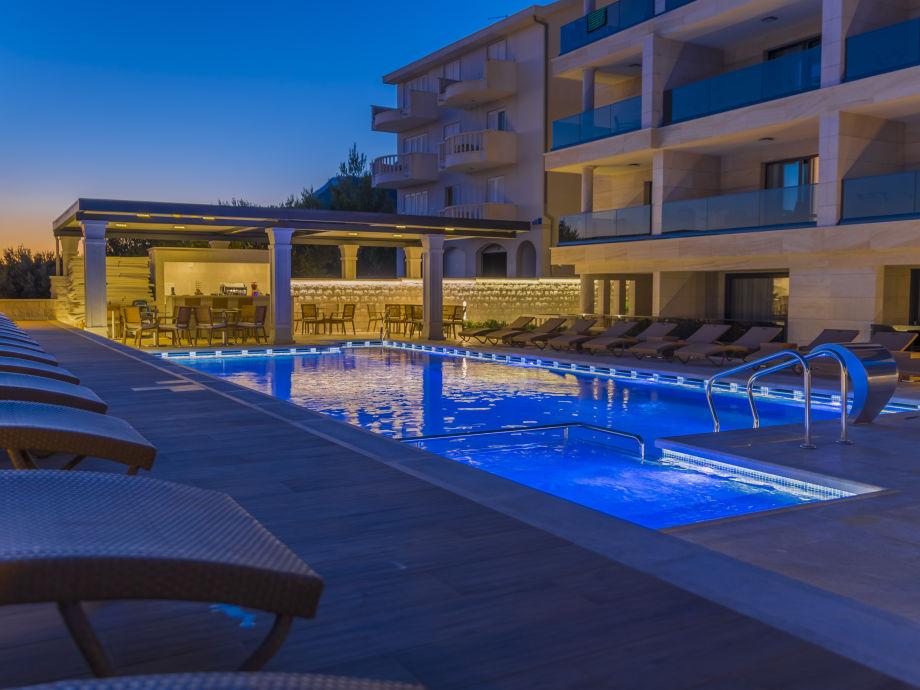 Ferienwohnung luxury aparthotel 2008 dalmatien makarska for Appart hotel 45