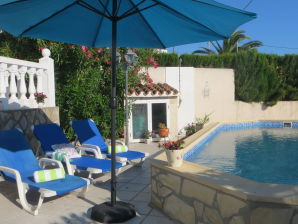 Holiday house On Montgo with private pool