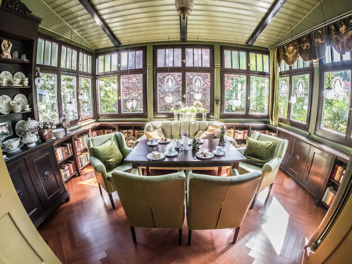Der Wintergarten Im Caf Froschknig Impression Wohnzimmer Ambiente Anbieten Cafe