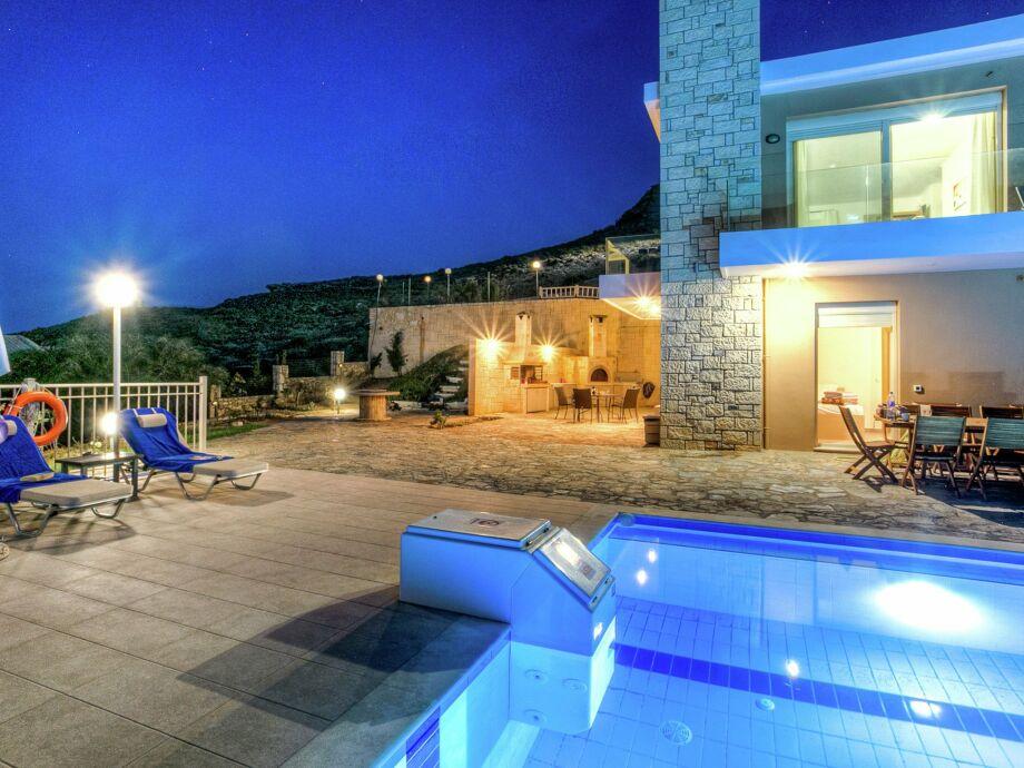 Außenaufnahme Villa Rami