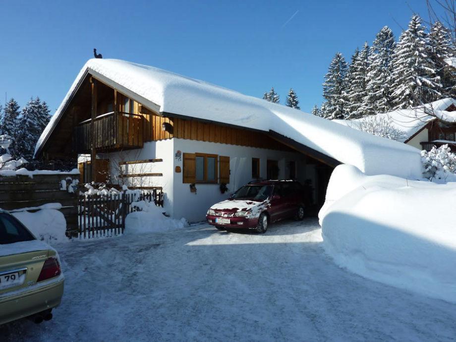 Winter - Zufahrt